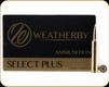Weatherby - 257 Wby Mag - 110 Gr -Select Plus - Accubond - 20ct - N257110ACB