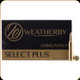 Weatherby - 416 Wby Mag - 400 Gr - Select Plus - Round Nose - 20ct - H416400RN