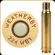 Weatherby - 224 Wby Mag - Unprimed Brass - 20ct