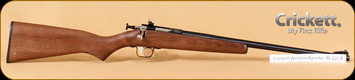 "Crickett - 22LR - Walnut Western Sporter/Blued, 16"" Barrel"