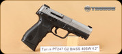 "Taurus - PT 24/7 - 40S&W - G2, Blk/SS, 4.2"""