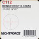 NIGHTFORCE - NF - 8-32x56 - .125 MOA - NP-R2 - C112