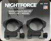"NIGHTFORCE - XTRM - Ring Set - 1.0"" Medium - 30mm - Ultralite - 4 Screw - A101"