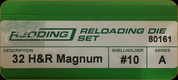 Redding - Full Length Sets - 32 H&R Mag - 80161