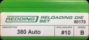 Redding - Full Length Sets - 380 Auto - 80170