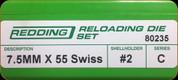 Redding - Full Length Sets - 7.5x55 Swiss - 80235