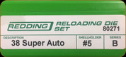 Redding - Full Length Sets - 38 Super Auto - 80271
