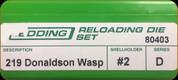 Redding - Full Length Sets - 219 Donaldson Wasp - 80403