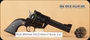"Ruger - Blackhawk - 45LC/45ACP - Blk/Blued, 4.6"""