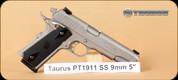 "Taurus - PT1911 - 9mm - SS, 5"""