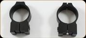 Warne - Maxima Rings - 30mm - High - Fits Tikka - Steel - Matte - 15TM