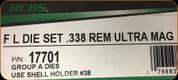 RCBS - Full Length Dies - 338 Rem Ultra Mag - 17701