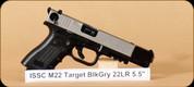 "ISSC Austria - 22LR - M22 - Target BlkGry, 5.5"""