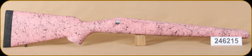 Bell and Carlson - Remington 700 BDL - Sporter Style - SA - Pink with Black Web