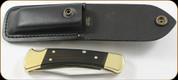 "Buck Knives - Buck 110 Folding Hunting - 3.75"" Blade - 420HC Stainless Steel - 0110BRS"