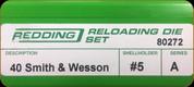Redding - Full Length Sets - 40 S&W - 80272