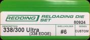 Redding - Full Length Sets - 338/300 Ultra (338 Edge) - Custom - 80924