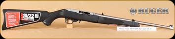 """Ruger - 22LR - 10/22 - Takedown, Blk/SS, 18.5"""""""