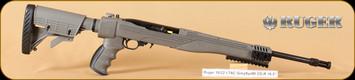 "Ruger - 22LR - 10/22 I-TAC - GreySyn, 10 rd rotary mag, 16.5"" - Mfg# 11113"
