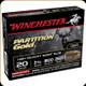 "Winchester - 20 Ga 2.75"" - 260 Gr - Partition Gold - High Velocity Sabot Slug- 5ct - SSP20"