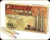 Barnes - 260 Rem - 120 Gr - VOR-TX - TTSX (Tipped Triple Shock-X) Boat Tail - 20ct - 22010