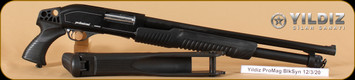 "Yildiz - Professional Magnum - 12Ga/3""/20"" - Defender, Pistol Grip, w/folding stock"
