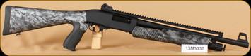 "Armsan - 12Ga/3""/18.5"" - RS-X2 FPS- Skull Camo, Pump Action, Full Top Picatinny Rail"