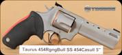 "Taurus - Raging Bull - 454Casull - Blk/SS, 5"""