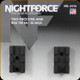Nightforce - XTRM - Base - Rem 700 SA - 2pc - 20 MOA - A114