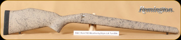 Bell and Carlson - Remington 700 BDL - Weatherby Style Sporter - LA - Tan with Black Web