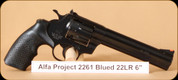 Alfa Proj - 2261 - 22LR - Blued, 6""