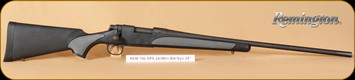 "Remington - 243Win - Model 700 - SPS, BlkSyn, R3 pad, 24"""