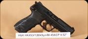 "H&K - HK45 V1 - 45ACP - BlkSyn, 4.53"""