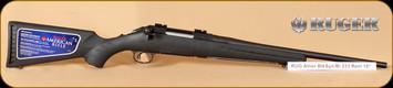 "Ruger - 223Rem - American - BlkSyn Bl, 18"""