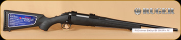 """Ruger - 308Win - American Compact Bolt Action - Blk Syn Bl, Compact, 18"""" - 6907"""