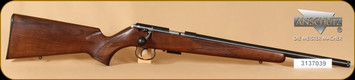 "Anschutz - 17HMR - 1517 D HB G - Item 009965, Walnut Classic, Threaded Barrel, 18"""