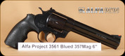 Alfa Proj - 3561 - 357 Mag - Blued, 6""