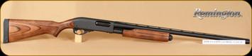 "Remington - 12Ga/3""/28"" - Model 870 Express - Pump Action - Laminate Stock/Matte Blued Finish, 4 Round Capacity, Single Bead Sight, Mfg# 25568"
