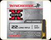 Winchester - 22 LR - 12 Shot - Super X - Pest Control - 50ct - X22LRS