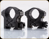"Talley - 1"" - Low Rings - Black Armor Tactical - BAT10L"