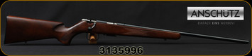 "Anschutz - 17HMR - 1517 D - Nuss Classic, Single stage trigger, no sights, 23""Barrel, Mfg# 009962, S/N 3135996"