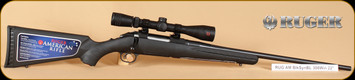 """Ruger - 308Win - American - BlkSyn SS, Redfield 3-9x40, 22"""""""