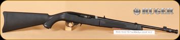 """Ruger - 22LR - 10/22 - Takedown - SHowroom Model Tactical, BlkSyn Bl, threaded barrel, flash suppressor, 16.5"""""""