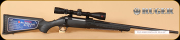 Ruger - 30-06Sprg - American - BlkSyn Bl, Redfield Scope Pkg, 22""