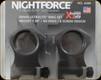 "NIGHTFORCE - XTRM - Ring Set - 1.5"" XX-High - 30mm - Ultralite - 6 Screw - A269"