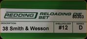 Redding - Full Length Sets - 38 S&W - 80303