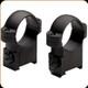 "Burris - CZ-Style Ringmounts - 1"" Medium Black - CZ 550 Long Action - 420130"