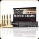 Nosler - 223 Rem - 60 Gr - Match Grade - Ballistic Tip - 20ct - 60013