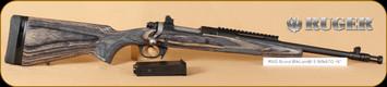 """Ruger - M77 - 5.56NATO/223Rem - Scout, BlkLamBl, 16"""""""