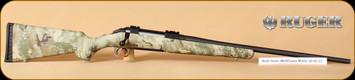 """Ruger - 30-06Sprg - American - WolfCamo, matte black, 22"""" - MFG# 06948"""